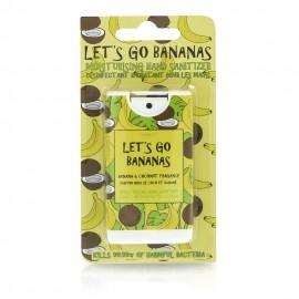 MAD BEAUTY Let's Go Bananas, Απολυμαντικό-Ενυδατικό Σπρέι Χεριών, Μπανάνα-Καρύδα - 15ml