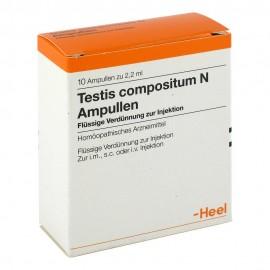HEEL Testis Compositum N Ampullen 10Amps