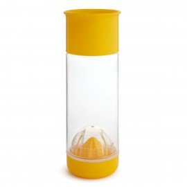 MUNCHKIN Miracle Fruit Infuser 360ᵒ, Ποτήρι-Στίφτης Φρούτων Κίτρινο - 590ml