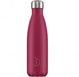 CHILLY'S BOTTLES Μπουκάλι- Θερμός, Matte Pink - 500ml
