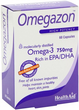 HEALTH AID Omegazon (Omega 3 Fish Oil) 60Caps