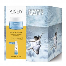 VICHY Aqualia Thermal Gel - 50ml & Δώρο Mineral 89 - 10ml