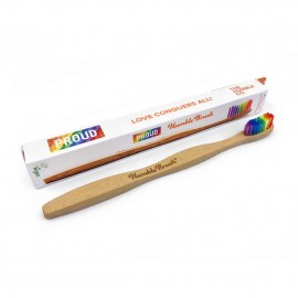 THE HUMBLE CO Humble Brush Proud Edition, Οδοντόβουρτσα Bamboo Ενηλίκων - Soft
