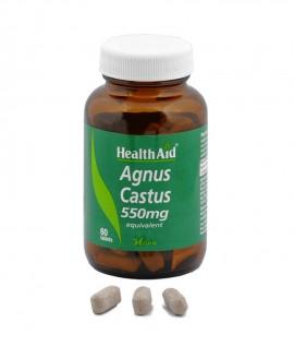 HEALTH AID AGNUS CASTUS 550MG 60CAPS