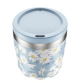 CHILLY'S BOTTLES Coffee Cup, Κούπα- Θερμός, Floral Daisy - 230ml