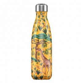 CHILLY'S BOTTLES Μπουκάλι- Θερμός Tropical Edition Giraffe - 500ml
