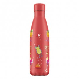 CHILLY'S BOTTLES Μπουκάλι- Θερμός, Pool Party Sundown Coral - 500ml