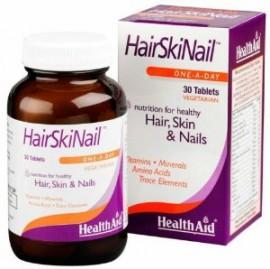HEALTH AID HAIR SKIN & NAILS 30CAPS