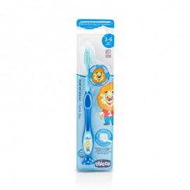 CHICCO Παιδική Οδοντόβουρτσα  Μπλε 3 - 6 Ετών 1Τμχ
