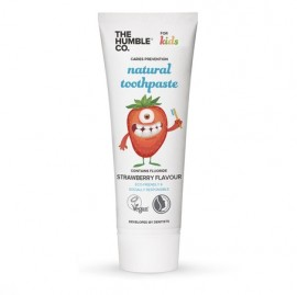 THE HUMBLE CO Kids Natural Toothpaste Strawberry, Παιδική Φυσική Οδοντόκρεμα Φράουλα - 75ml