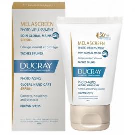 DUCRAY Melascreen Photo-Aging Global Hand Cream SPF50+,  Κρέμα Χεριών κατά της Φωτογήρανσης - 50ml.