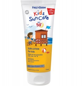 FREZYDERM Kids Sun Care SPF50+, Παιδικό Αντηλιακό Γαλάκτωμα - 175ml