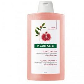 KLORANE Shampooing A La Grenade - Σαμπουάν Με Εκχύλισμα Ροδιού Για Βαμμένα Μαλλιά 400ml