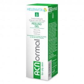 HELENVITA Acnormal Peeling Gel For Oily Skin-Τζελ απολέπισης με ΑHA για την επιδερμίδα 75ml