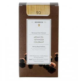 KORRES Βαφή Argan Oil 9.0 Κατάξανθο Φυσικό - 50ml