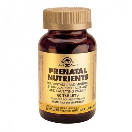 SOLGAR Prenatal Nutrients - 60tabs