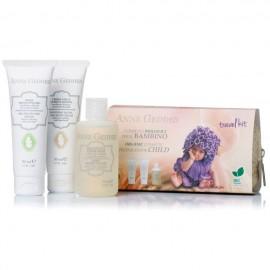 ANNE GEDDES Travel Kit BIO Κρέμα Αλλαγής Πάνας 50ml & Ενυδατική Κρέμα για το Πρόσωπο & το Σώμα του Μωρού 50ml & Παιδικό Αφρόλουτρο 75ml