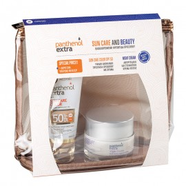 PANTHENOL EXTRA Sun Care and Beauty Set, Color SPF50 - 50ml & Δώρο New Night Cream - 50ml