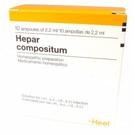 Heel Hepar Compositum 10 Ενέσιμες Αμπούλες