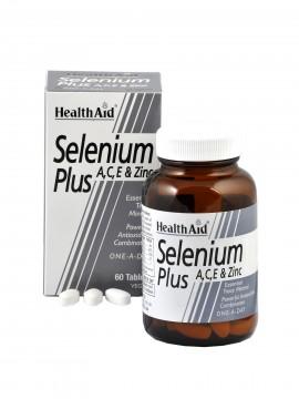 HEALTH AID Selenium Plus A, C, E & Zinc 60tabs