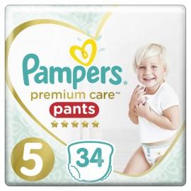 PAMPERS Premium Care Pants No 5 (12-17kg) - 34τμχ
