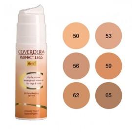 COVERDERM Perfect Legs Fluid no 53, Αδιάβροχο Make-Up για Πόδια και Σώμα, SPF40 - 75ml