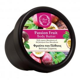 FRESH LINE Body Butter, Φρούτα του Πάθους - 150ml