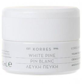 KORRES Λευκή Πεύκη Κρέμα Νύχτας για Αναπλήρωση Όγκου Θρέψη & Βαθιές Ρυτίδες 40ml