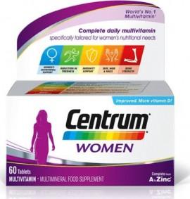 CENTRUM Women, Συμπλήρωμα Διατροφής Για Γυναίκες - 60 tabs