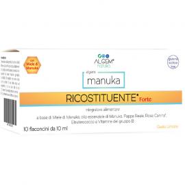 ALGEM NATURA Manuka Ricostituente Forte (Super Tonic) 10x10ml
