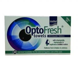 INTERMED Optofresh Towels Αποστειρωμένα Οφθαλμομάντηλα 20τμχ