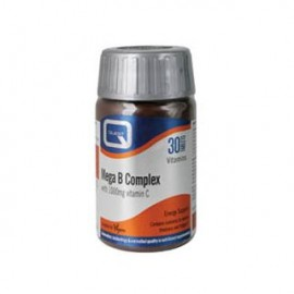 QUEST Mega B Complex with 1000mg vitamin C 30Tabs