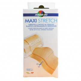 MASTER AID Maxi Stretch - Αυτοκόλλητα ρολά συνεχούς γάζας 50cmX8cm