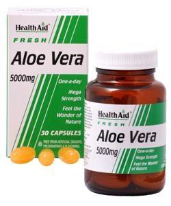 HEALTH AID Aloe Vera 5000mg - 30caps