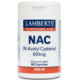 LAMBERTS NAC 600mg N-Acetyl Cysteine 90 κάψουλες