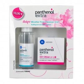 PANTHENOL EXTRA PROMO Day Cream 50ml + Micellar True Cleanser 3 in 1 100ml