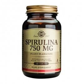 SOLGAR Spirulina 750mg - 100tabs