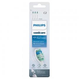 PHILIPS Sonicare C2 Optimal Plaque Defence - Ανταλλακτικές Κεφαλές Οδοντόβουρτσας 2τεμ