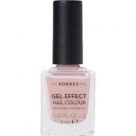 KORRES Gel Effect Nail Colour No.32 Cocos Sand Βερνίκι Νυχιών 11ml