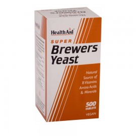 HEALTH AID Brewers Yeast 300mg 500Tabs