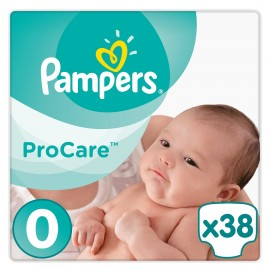 PAMPERS Procare No 0 (Micro 1-2.5 kg) - 38τμχ