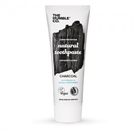 THE HUMBLE CO Natural Toothpaste Charcoal, Φυσική Οδοντόκρεμα με Ενεργό Άνθρακα - 75ml