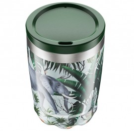 CHILLY'S BOTTLES Coffee Cup, Κούπα- Θερμός, Tropical Elephant - 340ml
