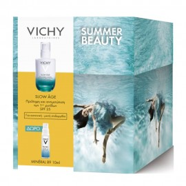 VICHY Slow Age Fluid - 50ml & Δώρο Mineral 89 - 10ml