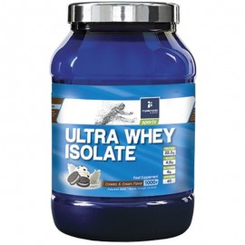 MY ELEMENTS Ultra Whey Isolate, Aπομονωμένη Πρωτεΐνη Ορού Γάλακτος, Γεύση Cookies & Cream - 1000gr