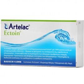 BAUSCH + LOMB  Artelac Ectoin Οφθαλμικές σταγόνες 20 αμπούλες x 0,5ml (Μονοδόσεις)