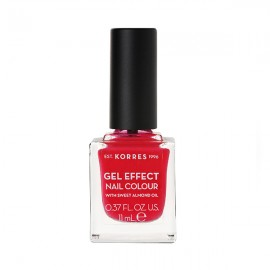 KORRES Gel Effect Nail Colour 19 Watermelon Με Αμυγδαλέλαιο 11ml