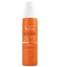 AVENE Sun Spray, Αντηλιακό Σπρέι SPF20 - 200ml