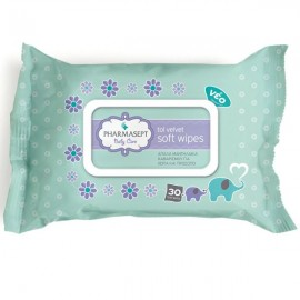 PHARMASEPT Tol Velvet Baby Wipes 30τμχ