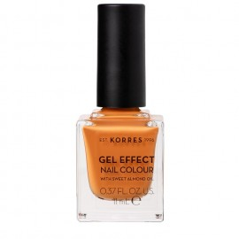 KORRES Gel Effect Βερνίκι Νυχιών Nail Colour No92 Mustard 11ml